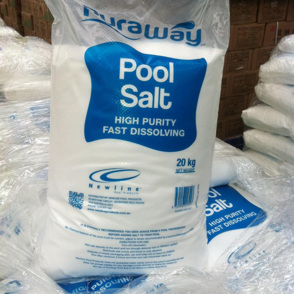 Great Salt for Salt Water Pool
