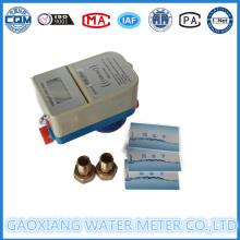Medidor de agua eléctrico prepago con tarjeta IC sin contacto Dn15-Dn25