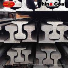 Carril de acero ligero de la pista ferroviaria del grupo del carbón de China, carril de acero ferroviario