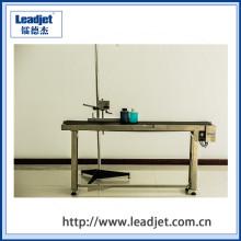 Correia transportadora de aço inoxidável ajustável da tabela de funcionamento da velocidade
