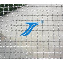 Maille crêpée, Crimediate intermédiaire, Grillage métallique ondulé en acier inoxydable