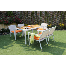 Pátio Garden 4 Piece Dining Set With Synthetic Poly Rattan Wicker