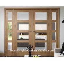 Interrior Veneered Shaker Glass Door