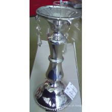 Prataria prata cor vela de vidro titular com cartaz único