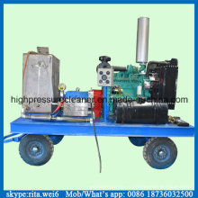 14000 psi промышленных поверхности очистка машины Дизель высокого давления