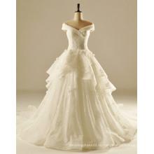 с плеча мягкие струящиеся свадебные платья