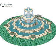 2018 high quality modern garden marble water fountain for sale