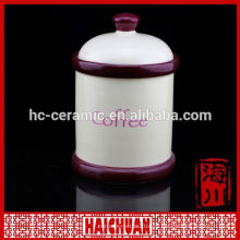 Керамические косметические банки Super White Porcelain