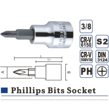 Phillips Hex Slotted Torx Bit Socket