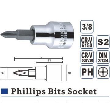 Phillips Hex Slot Torx Bit Socket