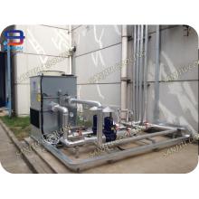Tour de refroidissement à contre-courant de circuit fermé de 12 tonnes Superdyma GTM-110 petite tour de refroidissement à échelle