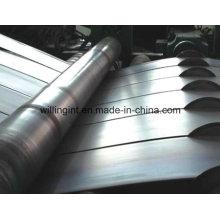 Corte de acero galvanizado cortado a la longitud de la maquinaria