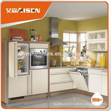 Good Reputation factory directly prefab kitchen cabinet for Ghana market