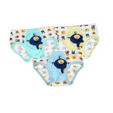 Cute Cartoon Printed Crianças Tanga Underwear Menino Underpants Crianças Underwear
