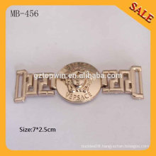 MB456 2015 hot sell brand logo clothing metal patch