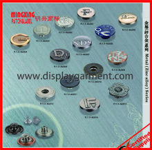 classic jean jacket metal buttons,metal jeans button