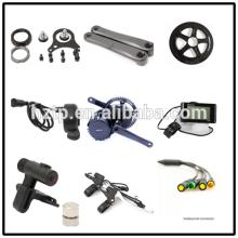 Kit de conversión fácil de diy e-bike diy kit de motor mid drive Bafang BBS01 250W