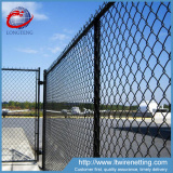 Wholesale black vinyl coated chain link fence for baseball fields