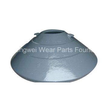 Pièce d'usure de concasseur OEM Doublure à bol pour broyeur à cône Mcc54