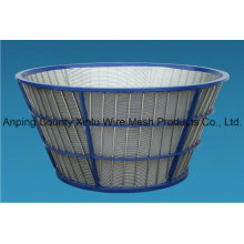 Centrifuge Wedge Wire Screen Basket
