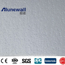 Alunewall embossed 4mm aluminum composite panels competitive price acp cladding / aluminum exterior wall panels
