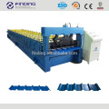 High efficient removable wall corrugated sheet steel roof galvanized aluminum metal wall colored steel cold roll forming machine