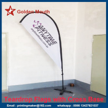 Large Size Teardrop Flags Banner Printing