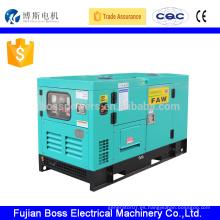 60HZ 1800rpm YANGDONG tipo silencioso 10 kw refrigerado por agua generador diesel