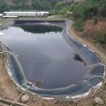Пластиковый вкладыш с геомембранным резервуаром для воды
