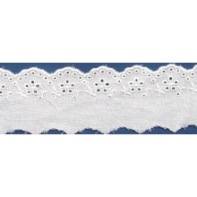 Sex Embroidered lace fabric trim for sexy wedding dresses