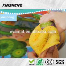 2015 vente chaude chine fait jouet lettres alphabet pvc bébé parklon tapis de jeu, tapis de bébé non-toxique, anti-dérapant tapis de sol