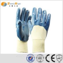 Перчатка с перламутровым нитью SunnyHope Blue