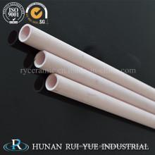 Tubo cerâmico da proteção do par termoeléctrico da alumina