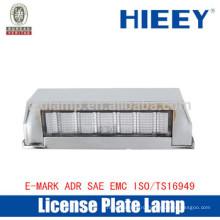 Внедорожная лампа номерного знака с номерным знаком номерного знака грузовика E-MARK