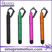 Rubber Tip Touch Pen with Dust Plug for Mobile Phone