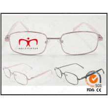 Nuevo marco óptico vendedor caliente del metal del capítulo de Eyewear (WFM501002)