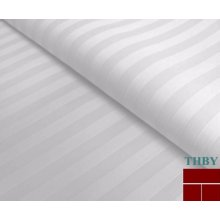 cotton sateen stripe fabric for hotel