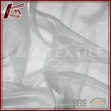 Китай поставщик шелковой органзы ткань для свадебного платья