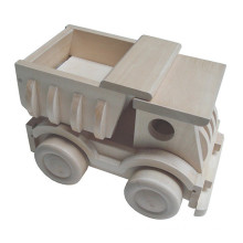 high quality wooden toy truck