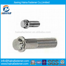 Stainless Steel 12 Point Flange Head Bolts
