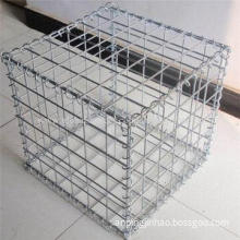 Gabion box, both woven and welded types are available