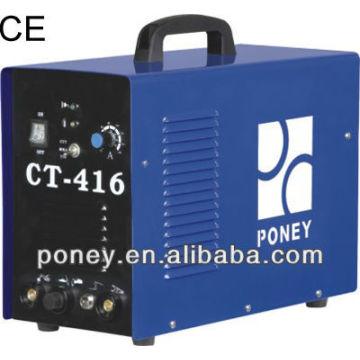 CE matériel en acier portatif mosfet mma / tig / coupure CT-416 / machine industrielle / machine à découper portatif