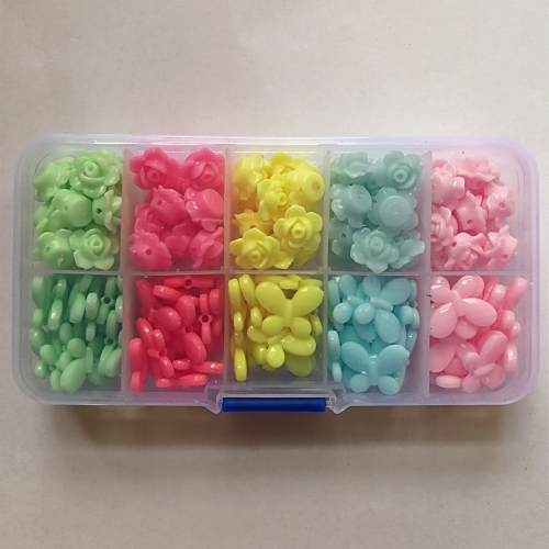 Colorful Plastic Beads