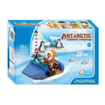 Boutique Building Block Toy-Antarctic Scientific Expedition 03