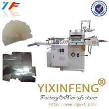 Máquina de corte de filme de moldagem de papel de perfuração