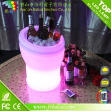 Cubo de gelo do diodo emissor de luz / refrigerador do vinho do diodo emissor de luz