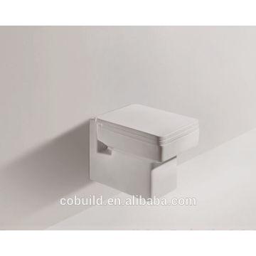 Западной стандартной ванной стены повесить туалетную s-ловушка запивать стена Повиснула туалет