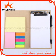 Custom Office Stationery Memo Pad with Pen (FM406)