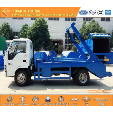 Japan technology 4cbm swinging arm garbage truck