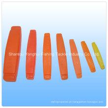 Flutuadores de plástico